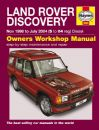 Haynes Workshop Manual Land Rover Discovery Diesel (Nov 98-Jul 04) S to 04